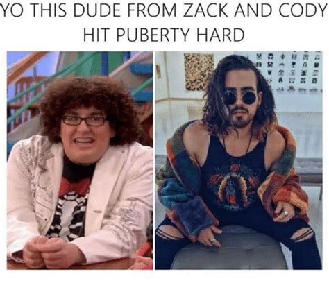lil pump zendaya yo this dude from zack and cody hit puberty hard dude