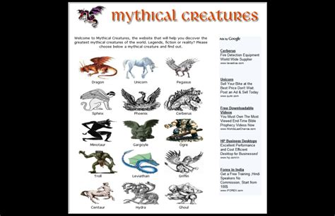Mythical Creatures Of Asia history of mythical creatures mythical creatures