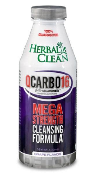 Q Clean Detox by Q Carbo Liquid Grape Herbal Clean Detox 16 Oz Liquid Ebay