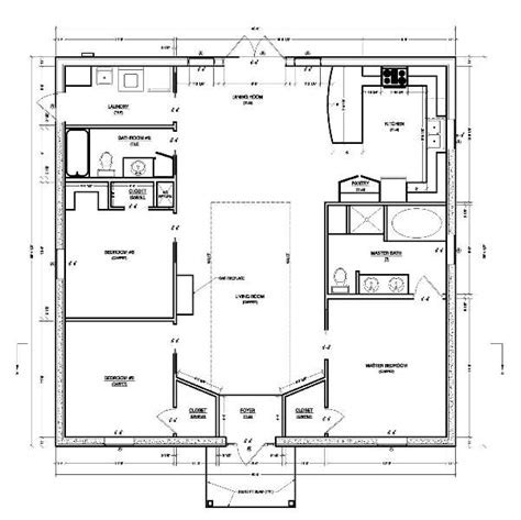 Small house plans should maximize space and have low