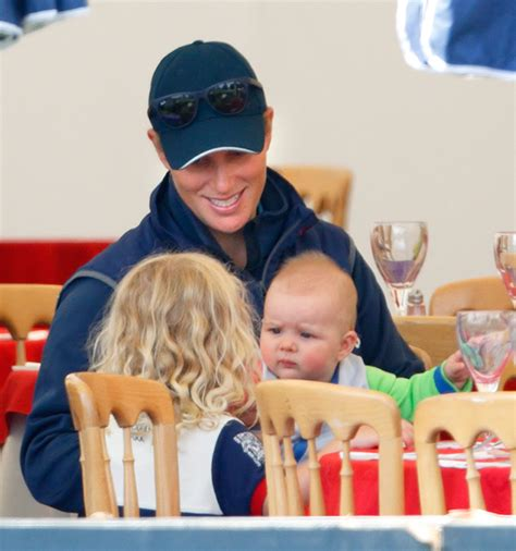 Zahra Skincare Day zara tindall and baby spent the day with