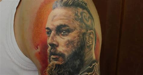 ragnar lothbrok tattoo geek ideas for best tattoos