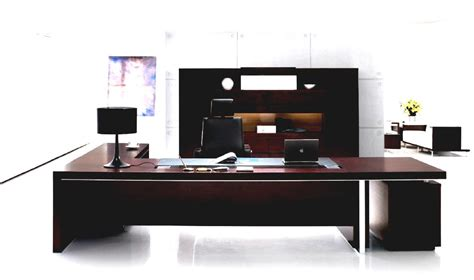 Contemporary Executive Office Desk Luxurious Home Office With Modern Executive Office Furniture Goodhomez