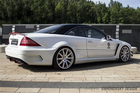 mercedes in wide kit for mercedes cl 215 w215 sr66 design