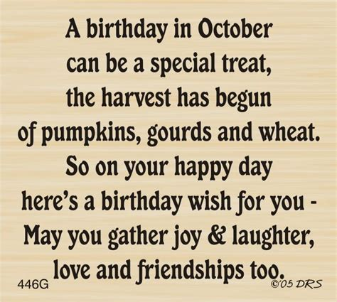 Birthday Quotes For Born Quotes About October Birthdays Quotesgram