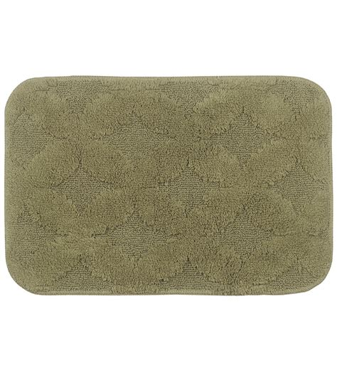 Rubber Backed Mats by Green Rubber Backed Bath Mat By
