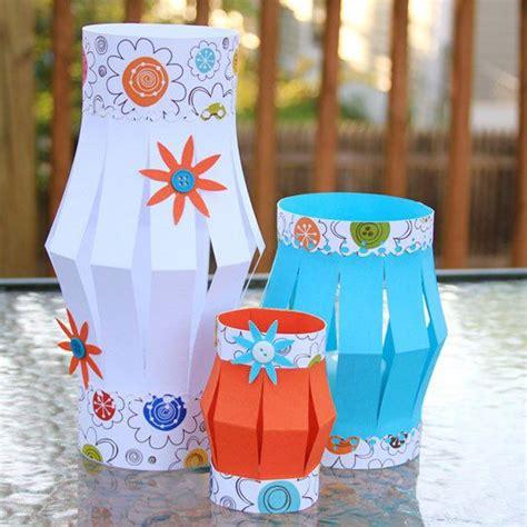 lanterne da giardino fai da te lanterne di carta fai da te