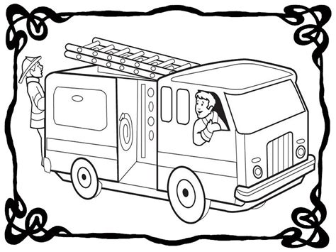 firetruck coloring page free truck coloring pages coloring home