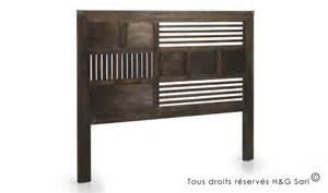 tete de lit en bois massif tete de lit bois design