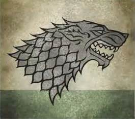 house stark colors of thrones banner teasers suggest skies ahead