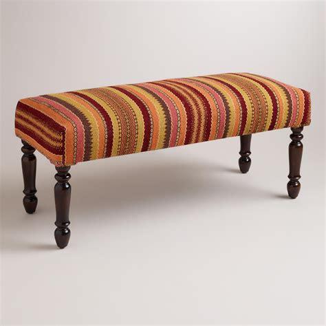 kilim bench asha kilim bench world market