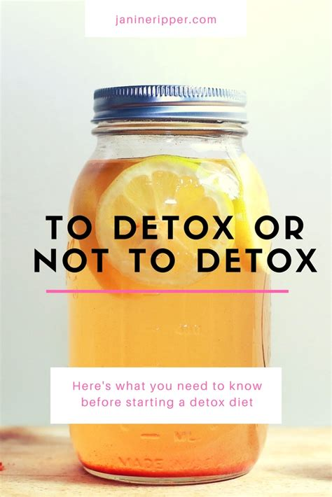 How To Detox Before Going On A Diet by Here S What You Need To Before Starting A Detox Diet