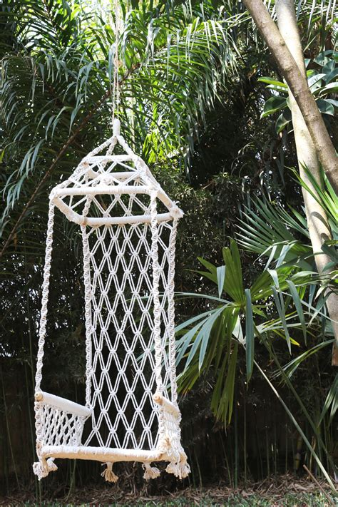 macrame swing treasures and goods from india for the love of wonder