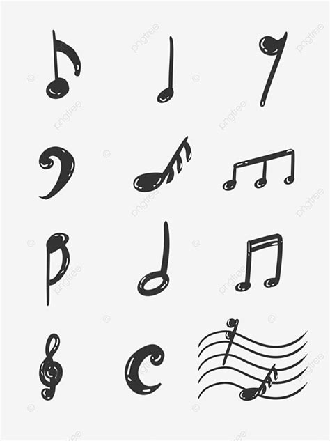 Notas Musicales, Clipart De Música, Sheet Music, Nota PNG