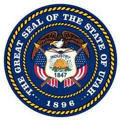 utah state colors pioneer utah state flag seal