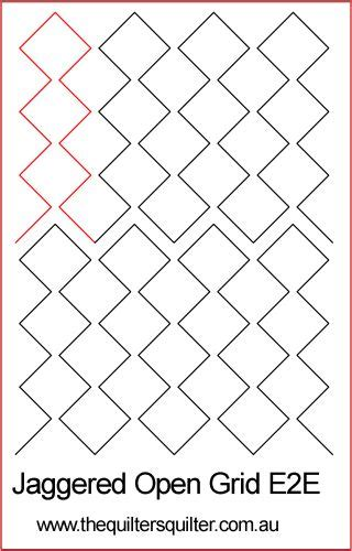 pattern grid for pantographs the quilter s quilter digital quilting patterns