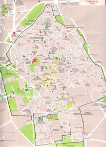 medina map accommodation in marrakech fez riads