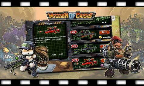 download game crisis action v1 9 1 mod apk mission of crisis apk v1 5 1 0 mod free shopping apkmodx