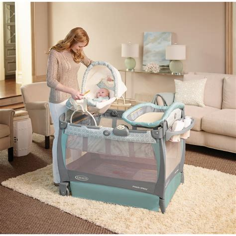 Can Pack And Play Be Used As A Crib by Baby Graco Pack 039 N Play Playard Cuddle Cove Rocking