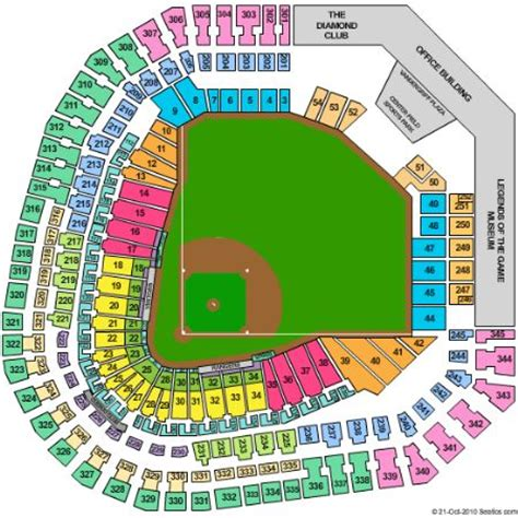 texas rangers stadium map rangers ballpark in arlington tickets and rangers ballpark in arlington seating chart buy