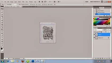 tutorial wpap newbie tutorial cara membuat foto menjadi sketsa pensil dengan