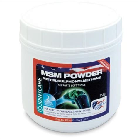 m s supplements equine america msm 454g supplement solutions