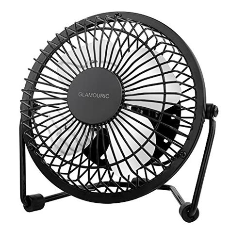 small metal table fan metal desk fan glamouric small table fan 4 inch mini