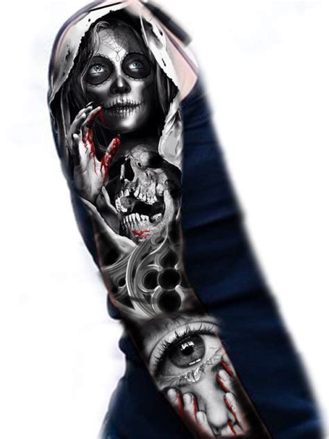 sugar skull sleeve tattoo designs sugar skull sleeve ideas skull