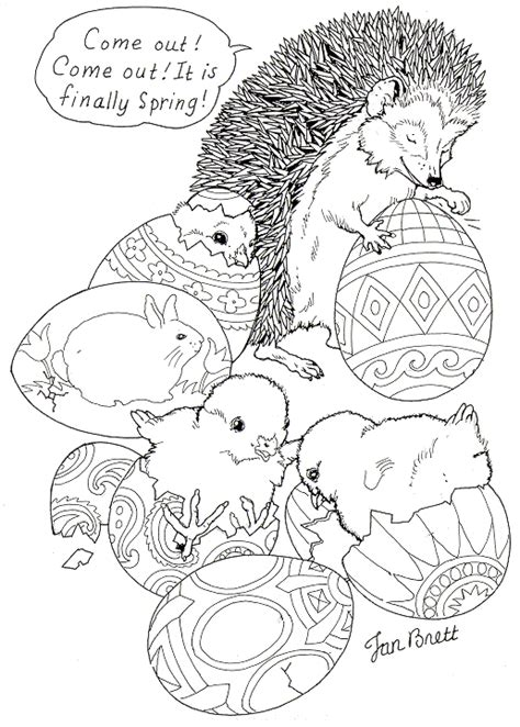 gaga ombro coloring pages for easter egg