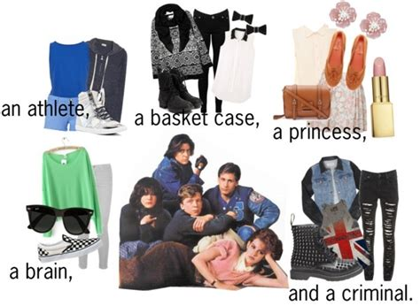 Breakfast Club Wardrobe by The Breakfast Club Inspired Fashion I Made This By The