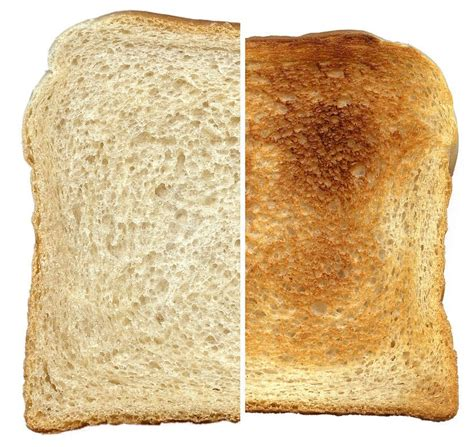 chagne toast toasted bread why toasting bread makes it golden brown