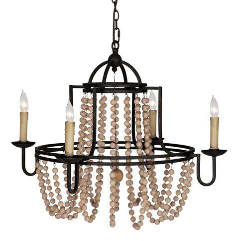 black swag chandelier sabrina country wood beaded swag black iron