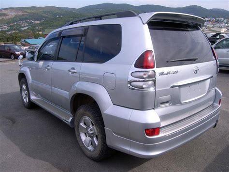 2002 Toyota Land Cruiser 2002 Toyota Land Cruiser Prado Photos 3 4 Gasoline
