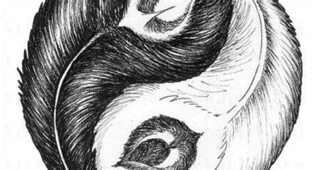 feather tattoo ying yang yin yang feathers tattoo ideas pinterest the white