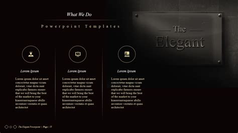 design powerpoint elegant the elegant powerpoint presentations by idsains