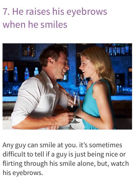 7 Ways To Hes A by 10 Ways To Tell If He S Flirting With You Musely