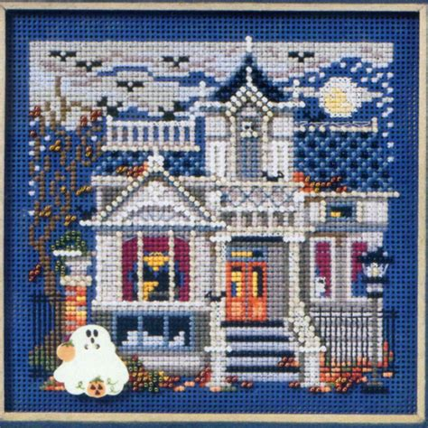 mill hill bead kits haunted mansion cross stitch kit mill hill 2011 buttons