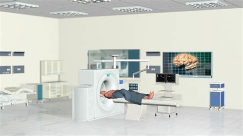 Are There Cameras In Hospital Rooms by Mri Scan In Hospital Room Panning Alpha 1 Stock