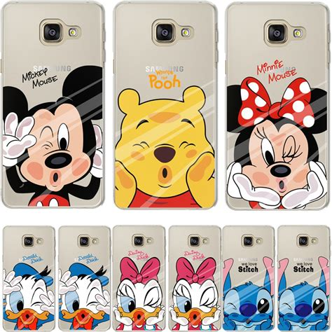 Casing Samsung A3 2017 Mickey And Minnie Mouse Custom buy minnie mickey duck phone back cover for samsung galaxy j3 j5 j7 a3 a5 2016 2015 grand