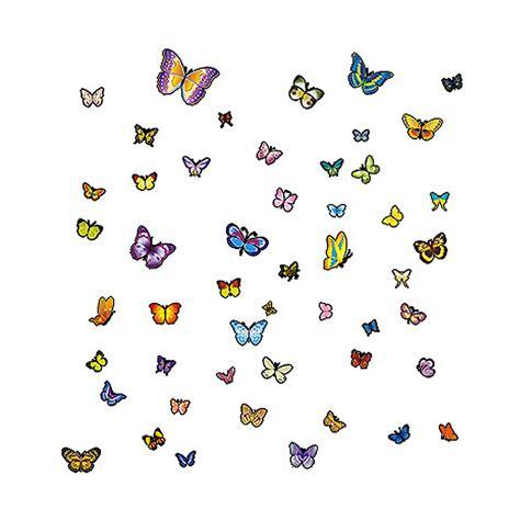 Wallsticker Bedroom Me 100 X 60 bedroom pvc butterfly pattern removable wall sticker