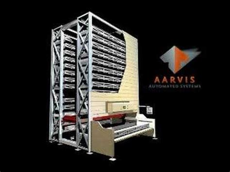 vertical lift module aarvis automated systems llc youtube