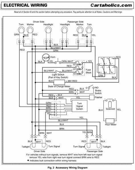 1995 ezgo wiring diagram