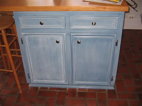 denim look white glaze blue paint glazed