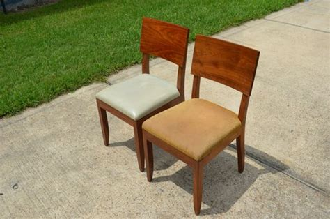 Refinishing Dining Chairs Made Chair Transformation Refinishing Dining Chairs To Match Decor By Southern Woodworking