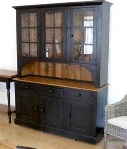 What Is A Hutch Furniture 6 Door 3 Drawer Black Hutch Farmhouse China Cabinets