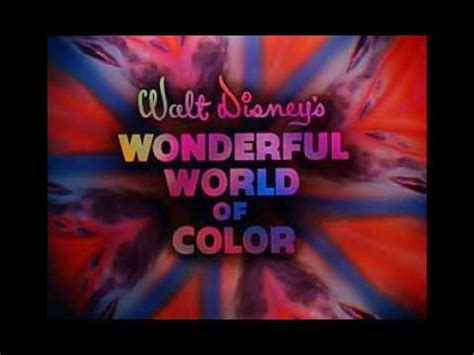 wonderful world of color walt disney s wonderful world of color opening