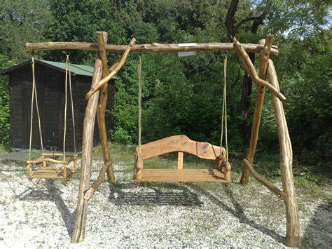 www giardino it arredamento giardino altalena in legno acacia