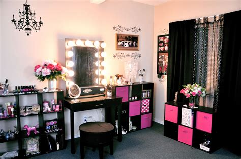 Vanity Room Salon by Vanity Tour Makeup Collection With Nancy