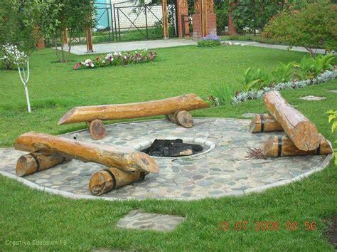 sunken backyard fire pit sunken fire pit