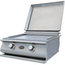 stainless griddle for gas grill cal 24 inch built in stainless steel gas